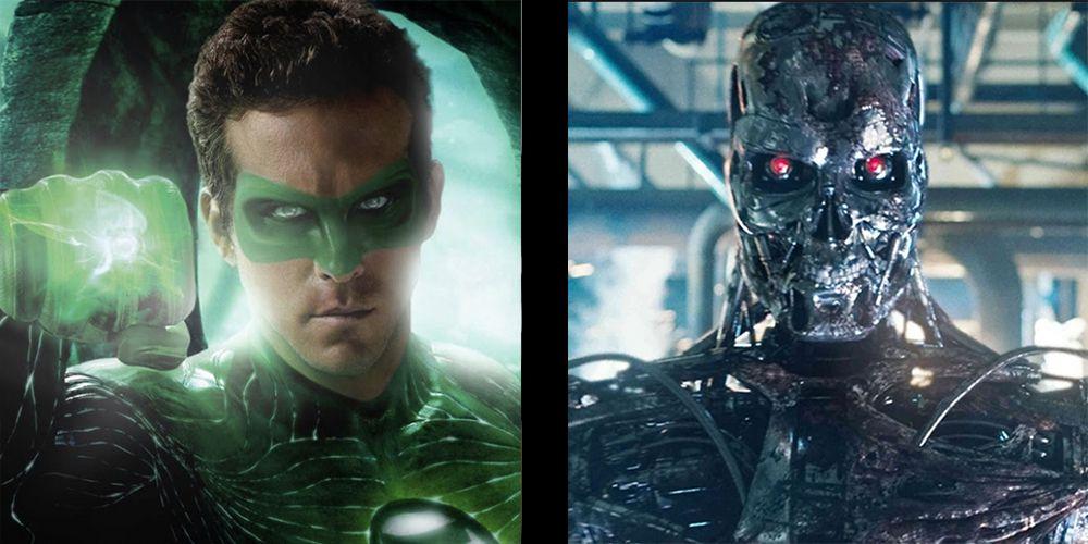 green lantern vs robot