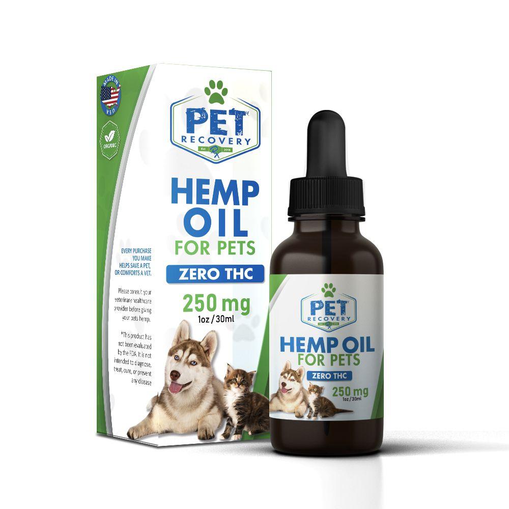 250mg dog oil